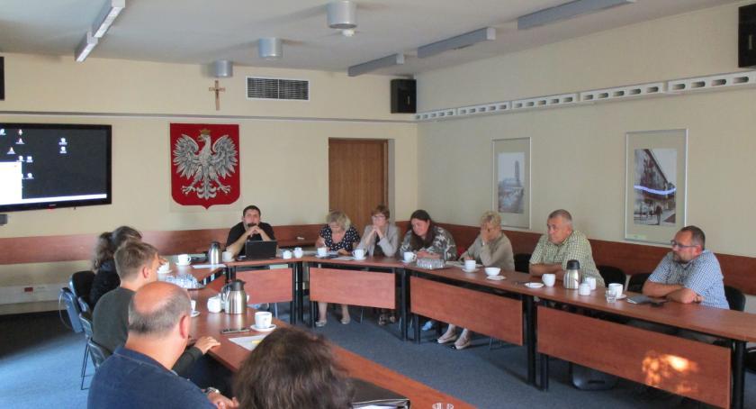 plany zagospodarowania, Komisja przestrzenna Ochocie - zdjęcie, fotografia