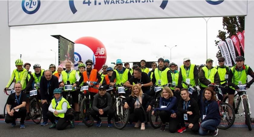 Bieganie, Maraton Warszawski - zdjęcie, fotografia