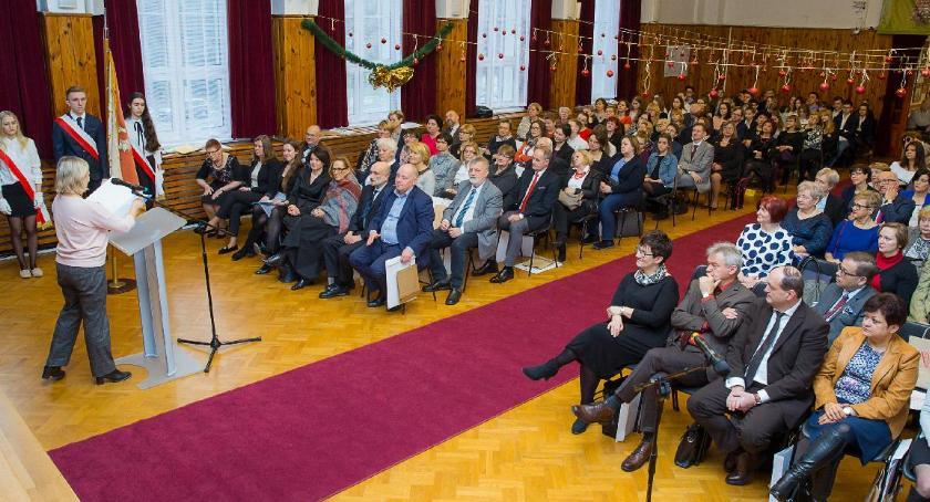 szkolnictwo, Jubileusz Słowackiego - zdjęcie, fotografia