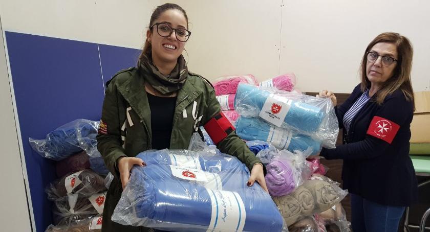 Ochota dla uchodźców z Syrii, Syryjczycy dziękuję Ochocie lekarstwa koce! - zdjęcie, fotografia