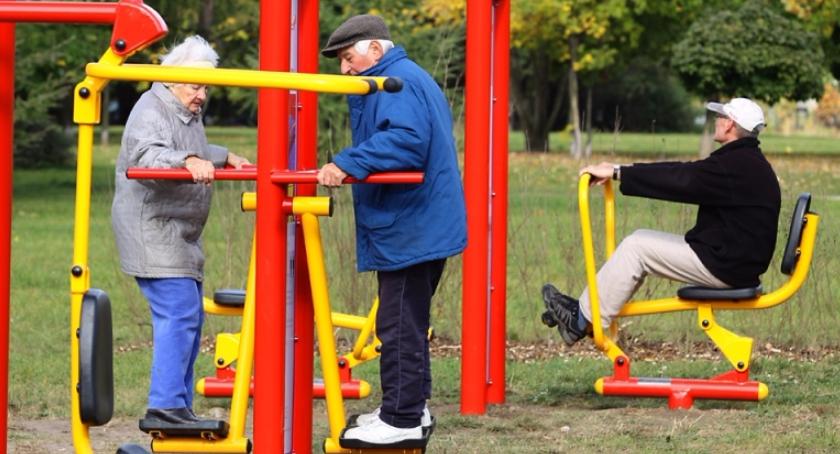 rekreacja, Darmowe treningi Parku Cietrzewia Szczęśliwicach - zdjęcie, fotografia