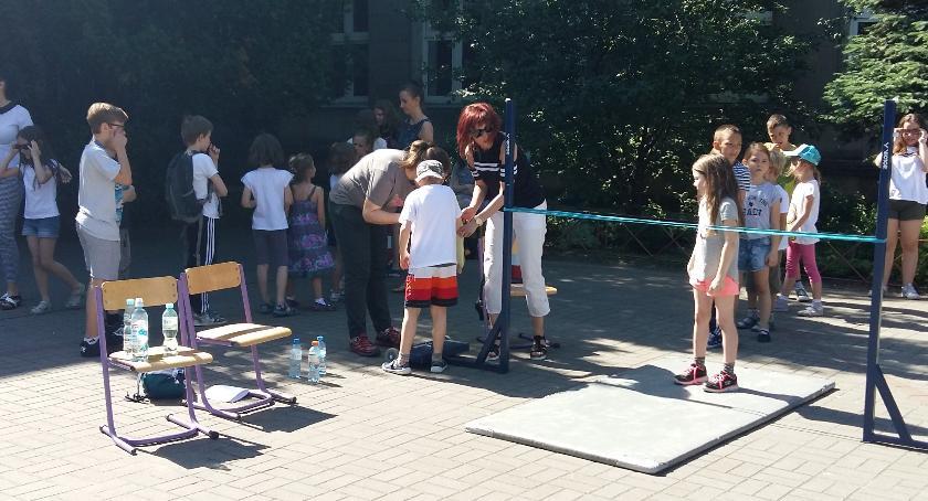 szkolnictwo, Dzień sportu - zdjęcie, fotografia