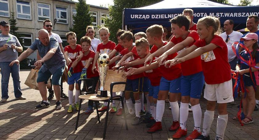 piłka nożna, Ochocki Mundial Rosja wygrywa Polska trzecia - zdjęcie, fotografia