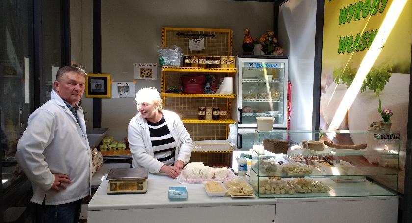 Stoiska na Zieleniaku, Swojskie ekologiczne jedzenie - zdjęcie, fotografia
