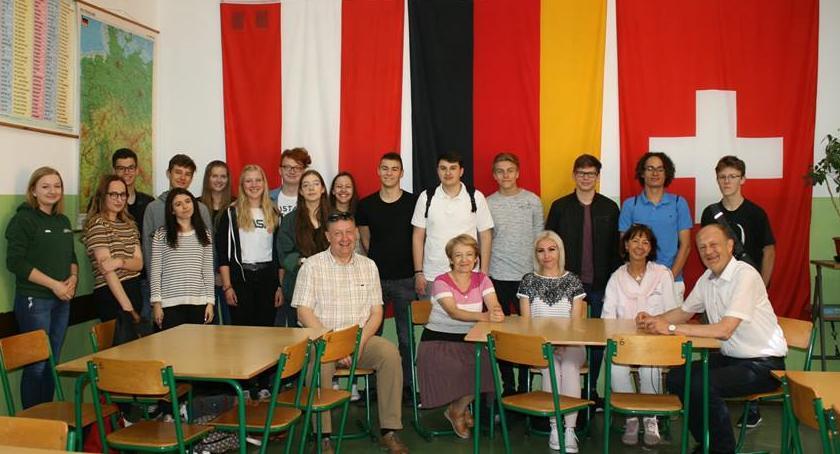 szkolnictwo, Uczniowie Haren gośćmi Dembowskiego - zdjęcie, fotografia