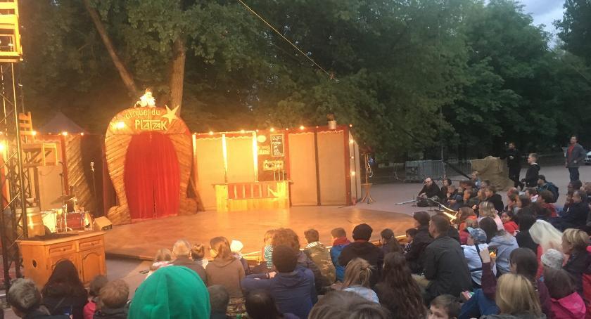teatr, Warto wybrać parku Szczęśliwickiego - zdjęcie, fotografia