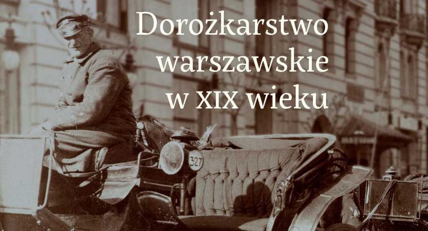 Historia, Dorożkarstwo warszawskie wieku - zdjęcie, fotografia
