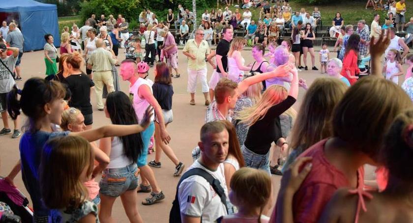 taniec, Zapraszamy tańce Parku Szczęsliwickiego - zdjęcie, fotografia