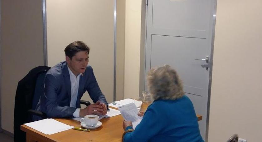 samorząd, Michał Wąsowicz Burmistrz Dzielnicy Włochy zaprasza kolejne spotkanie - zdjęcie, fotografia