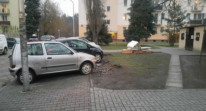 parkowanie, Korotyńskiego problem - zdjęcie, fotografia