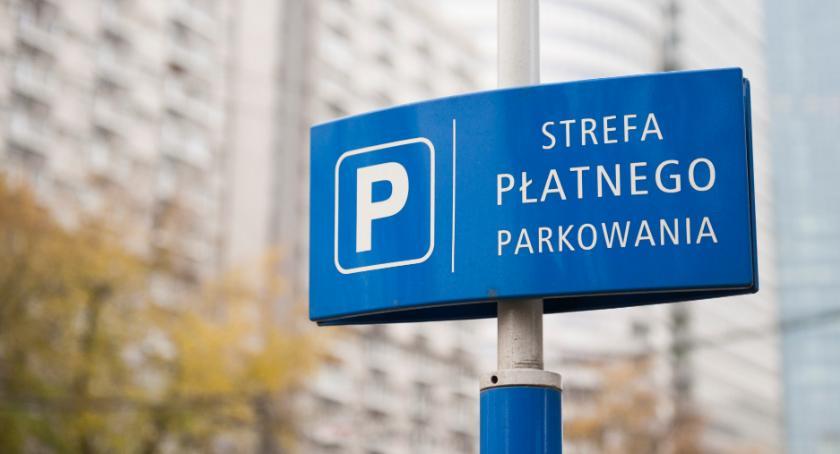 parkowanie, Płatne parkowanie całej Ochocie - zdjęcie, fotografia