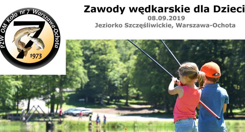 rekreacja, Zawody Wędkarskie dzieci - zdjęcie, fotografia