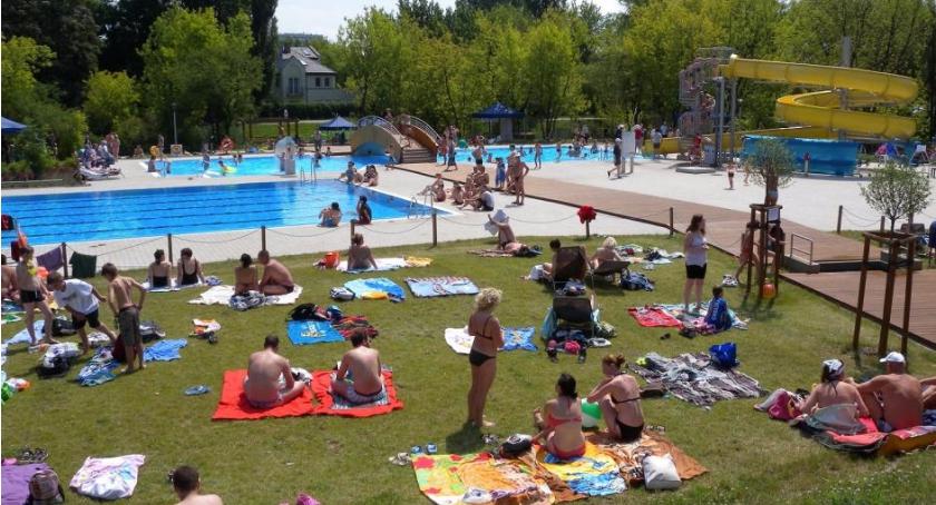 rekreacja, Otwarcie basenu Szczęśliwicach - zdjęcie, fotografia