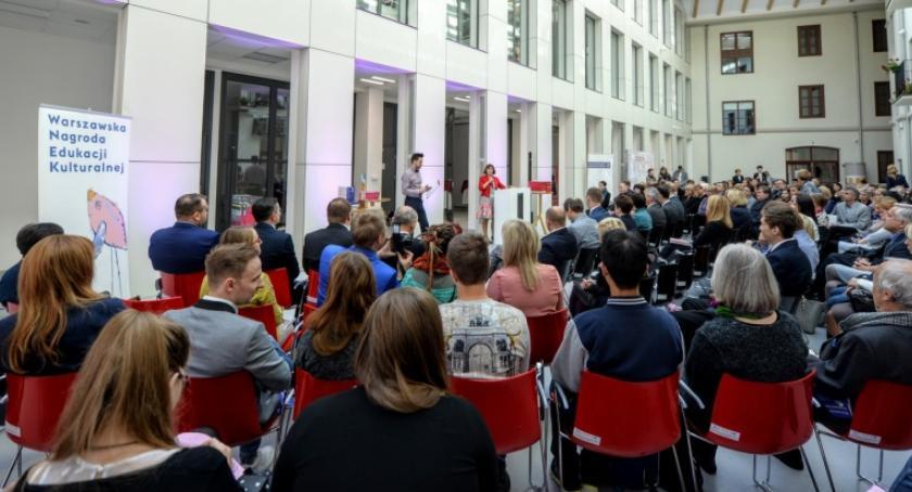 szkolnictwo, projekty Ochoty finale Warszawskiej Nagrody Edukacji Kulturalnej - zdjęcie, fotografia