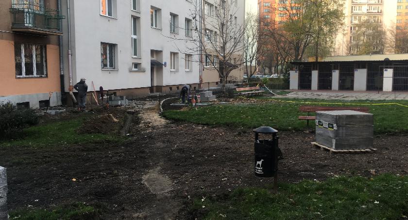 place i podwórka, Podwórko Andrzejowskiej Kaliskiej będzie - zdjęcie, fotografia