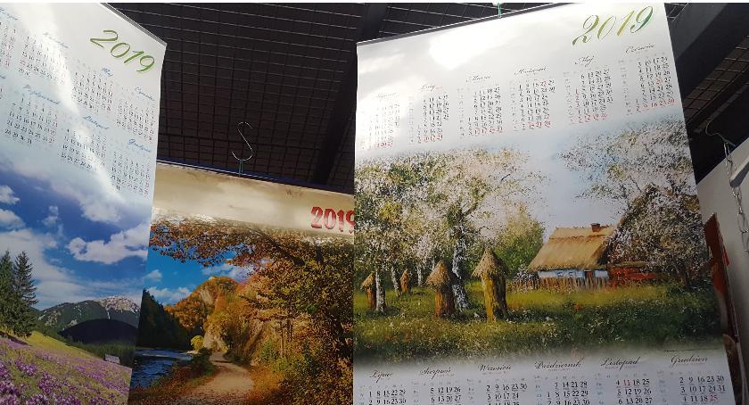 Stoiska na Zieleniaku, Przyszłość okiem Zieleniaka kalendarze - zdjęcie, fotografia