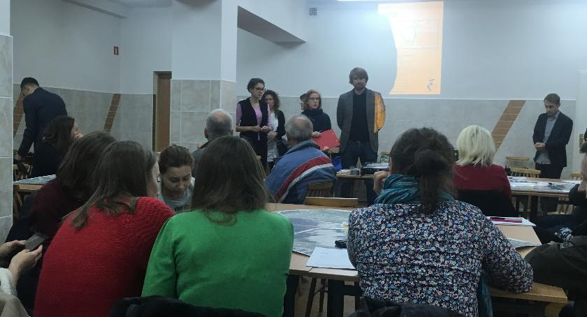 plany zagospodarowania, Konsultacje Wieżowiec zawężenie Grójeckie przebicie - zdjęcie, fotografia