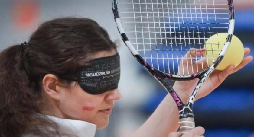 sport, Niewidomi tenisiści powalczą turnieju - zdjęcie, fotografia