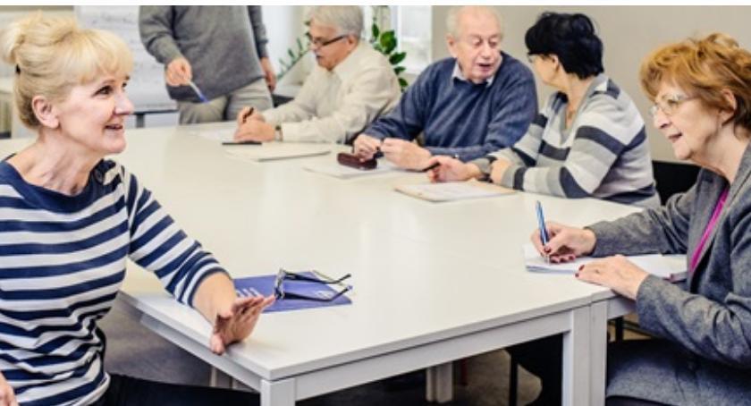seniorzy, Nabór Seniorów - zdjęcie, fotografia