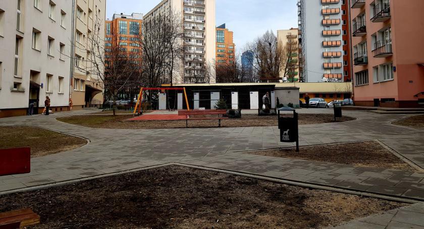 place i podwórka, Podwórko Kaliskiej Andrzejowskiej Słupeckiej nowej odsłonie - zdjęcie, fotografia