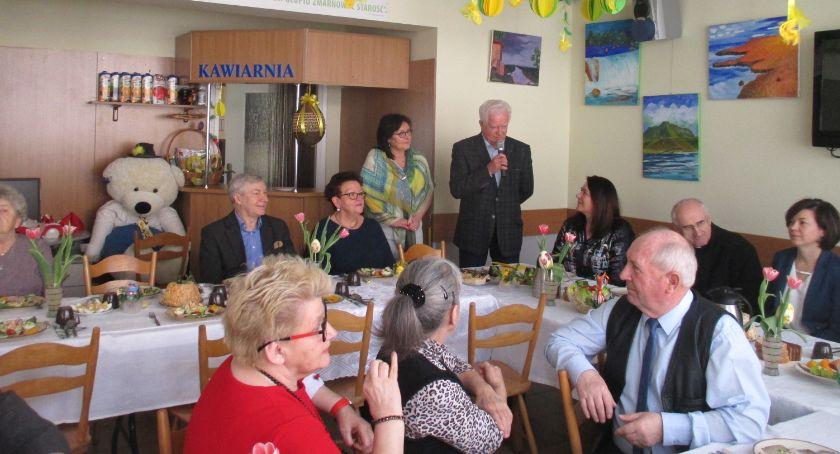 seniorzy, Świąteczne spotkanie seniorów Ochoty - zdjęcie, fotografia