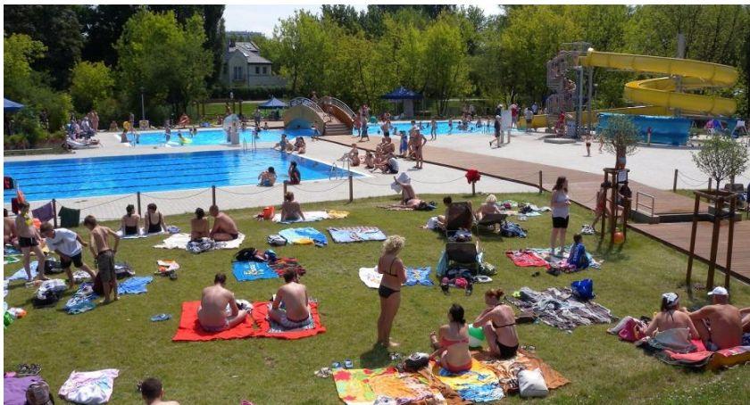 rekreacja, Rusza basen Szczęśliwicach - zdjęcie, fotografia