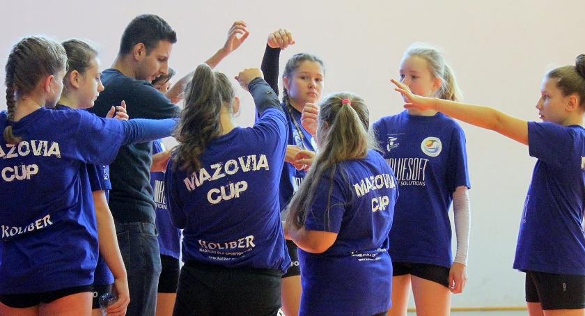 siatkówka, Młodziczki Mazovii wygrywają chłopakami - zdjęcie, fotografia