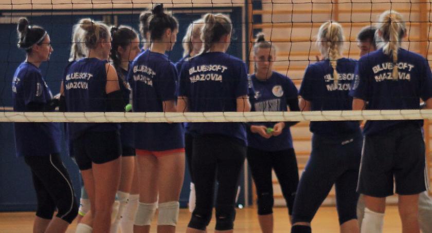 siatkówka, Mazovia zwycięstwo zakończenie pierwszej rundy - zdjęcie, fotografia