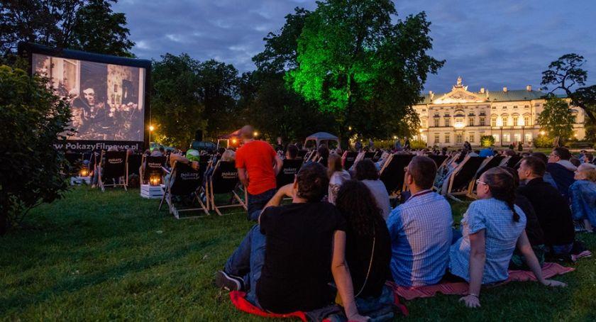 Film, Polskie Parku Szczęśliwickim - zdjęcie, fotografia