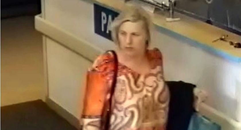 Bezpieczeństwo, Kobieta podejrzana kradzież torebki - zdjęcie, fotografia