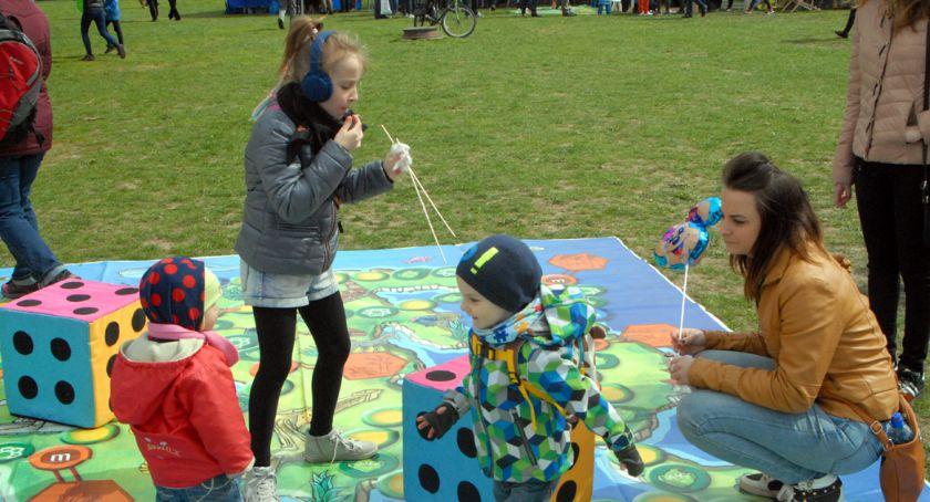 imprezy plenerowe, Piknik Ekologiczny parku Szczęśliwickim - zdjęcie, fotografia