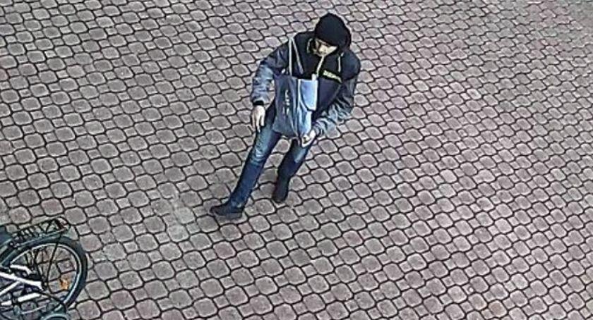 Bezpieczeństwo, Poszukiwany złodziej hulajnogi - zdjęcie, fotografia