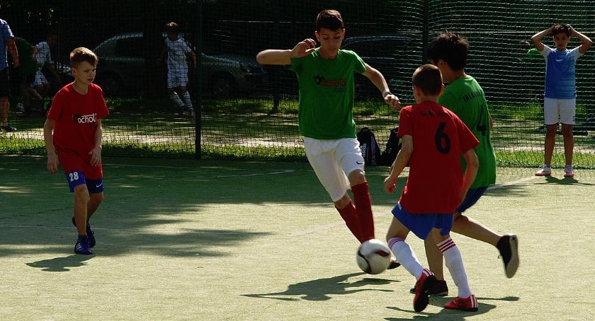 piłka nożna, Zapraszamy finał ochockiego - zdjęcie, fotografia