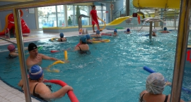 Bezpłatna gimnastyka w wodzie