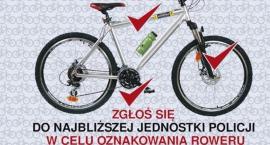 Nie daj szansy złodziejowi – oznakuj swój rower!