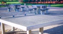 Tenis stołowy dla juniora i seniora w Parku Forty Korotyńskiego (nr 623)