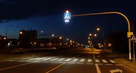 Widoczny pieszy na Ochocie - lampy doświetlające przejścia dla pieszych (nr 1008)