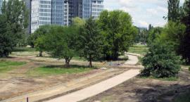 Park rośnie w oczach
