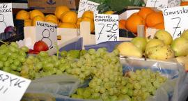 Są winogrona krajowe a orzechy włoskie bardzo drogie