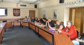 Debata o bezpieczeństwie na terenie dzielnicy Ochota .