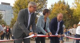 Uroczyste otwarcie  Skateparku w Parku Zachodnim .
