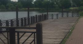 Modernizacja pomostu w Parku Szczęśliwickim