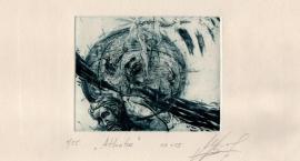 Mariana Myrosznyczenko w Galerii Ekslibrisu
