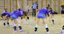 Juniorki BlueSoft Mazovia w meczu z MOS WOLA Warszawa!