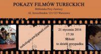 Pokazy Filmów Tureckich w Bibliotece Przy Zawiszy