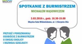 Spotkanie z Burmistrzem - 3 marca