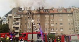 Pożar budynku mieszkalnego we Włochach