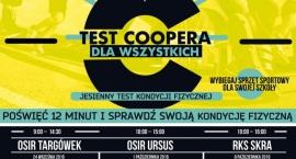 Jesienny Warszawski Test Coopera dla Wszystkich
