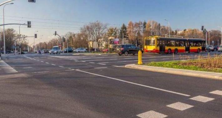 Inwestycje, Ulica Wołoska koniec przebudowy - zdjęcie, fotografia