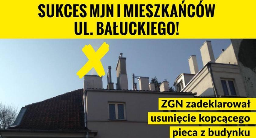 Sukces mieszkańców budynku na Bałuckiego 3 i Stowarzyszenia MJN: Presja ma sens!